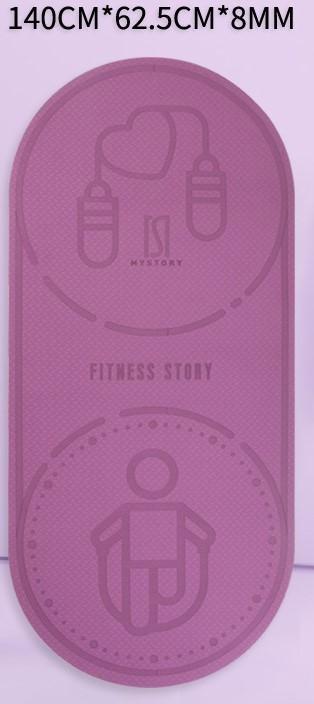 Home running yoga mat Gym dance mat Exercise mat 8
