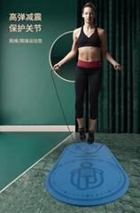 隔音減震跳繩墊 跑步運動瑜伽墊 健身跳操舞墊 運動墊