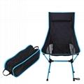 Folding chairs Aeronautical aluminium