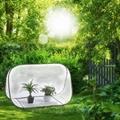 温室帐篷 花卉保暖罩 防风防雨暖房