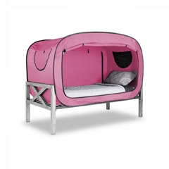 Privacy Automatic Pop Up Speed Open Dormitory Indoor Bed Tent