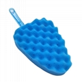 Car wash spongy brush Car wash tools Handle sponge