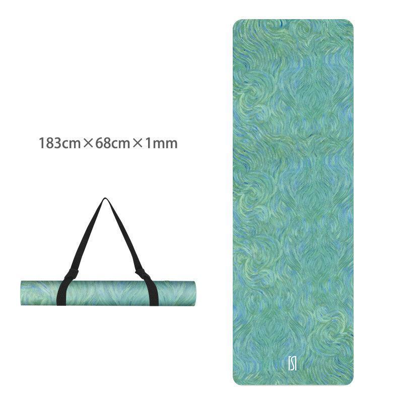 Yoga mat Non-slip mat TPE suede yoga mat 2
