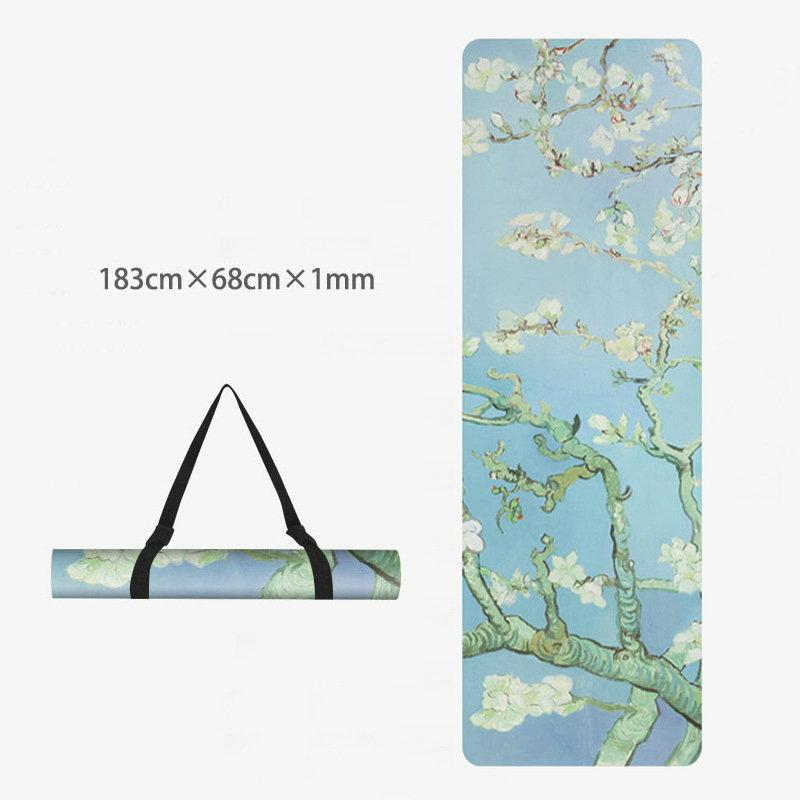 Yoga mat Non-slip mat TPE suede yoga mat 4