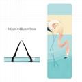Printed Yoga Towel Non Slip Blanket Absorb Mat Cover Towel Pilates Fitness 4
