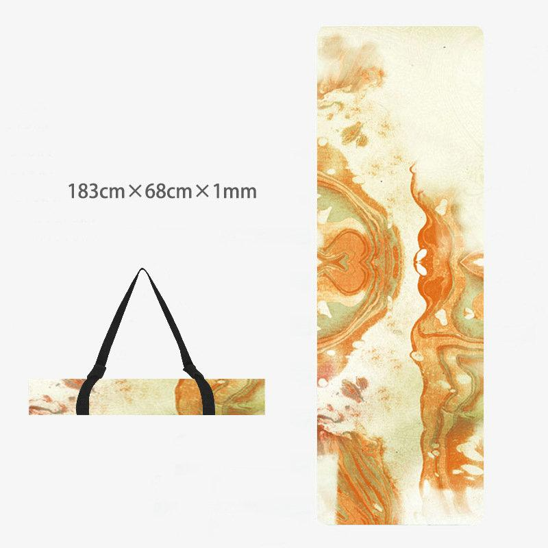 Printed Yoga Towel Non Slip Blanket Absorb Mat Cover Towel Pilates Fitness 3