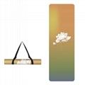 Printed Yoga Towel Non Slip Blanket Absorb Mat Cover Towel Pilates Fitness 8