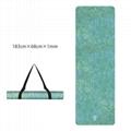 Printed Yoga Towel Non Slip Blanket Absorb Mat Cover Towel Pilates Fitness 10