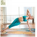 1830*650*3.5mm Natural Rubber Suede Yoga
