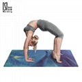 From Slip Mats Gym Rubber Matt Natural Pilates Non-slip Eco Friendly 1mm