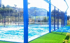 China Hot Wholesale Panoramic Padel Tennis Court from Youngman Factory
