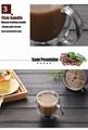 High Borosilicate Double Wall Glass Coffee Cups Glass Tea Mugs 4