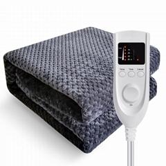 Single/ Double coral Fleece or Polar Fleece Electric Blanket