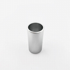 custom steel aluminum empty lipstick tube  lipstick tube aluminum parts aluminiu