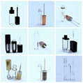 empty lip gloss tube container bottle holder Cosmetics Containers packaging with 5