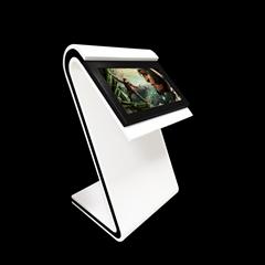 查询广告机外壳卧式触控液晶显示屏43寸红外多媒体自助终端机套料
