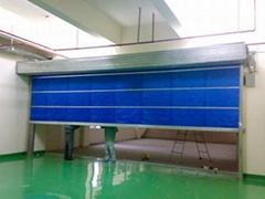 上海鋼制防火門 有軌無軌伸縮門製作安裝