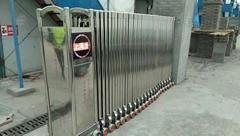 上海嘉定区自动伸缩门制作 钢制防火门制作安装