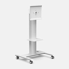 WH3365 Floor TV Cart with Mount Swivel