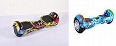 便携式蓝牙功能锂电池电动滑板厂家直销