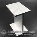 工字鋁定製木紋轉印H型鋁加工鋁