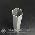鋁合金六方管鋁圓管定製木紋氟碳烤漆加工鋁棒鋁板現貨 1