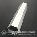鋁合金六方管鋁圓管定製木紋氟碳烤漆加工鋁棒鋁板現貨 2