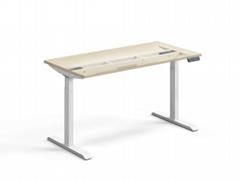双电机电动升降桌 办公桌升降笔记本电脑桌升降桌架 自由组合