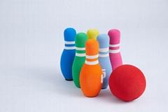 Colorful Foam bowling set