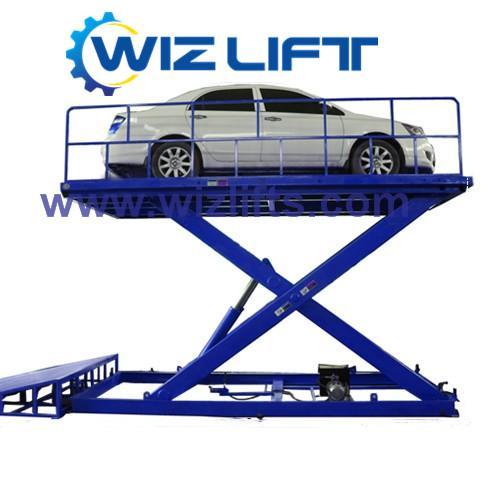 Hydraulic Cissor Car Lift Support Customized 1