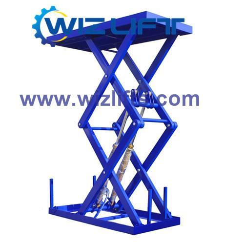 Hydraulic Cissor Car Lift Support Customized 2