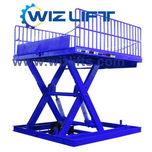 Hydraulic Cissor Car Lift Support Customized 3