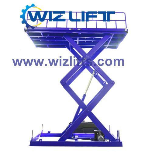 Hydraulic Cissor Car Lift Support Customized 4