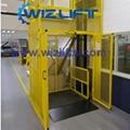 WIZ Hydraulic Cargo Lift with Safety