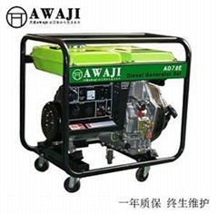 7KW柴油发电机单相AD7.0SE