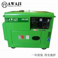 四沖程5KW小型柴油發電機