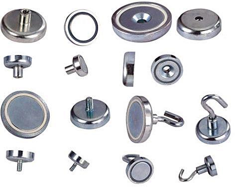 NdFeB Pot Magnets 1