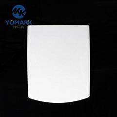 Square Plastic Combination Toilet Seat Cover