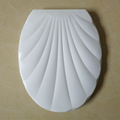 Shell Shape Toilet Seat Cover Good White