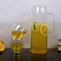 1.8L glass jug set water pitcher glass