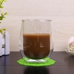 Pyrex Egg Shape Double Walled Glass Cup Mug Bodum Espresso Glass Drink Cup