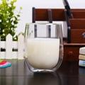 Pyrex Egg Shape Double Walled Glass Cup Mug Bodum Espresso Glass Drink Cup 3