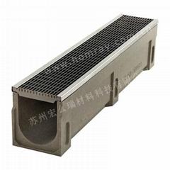 SMC树脂排水沟厂家 格栅盖板 不锈钢盖板
