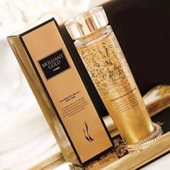 Gold Face Serum Hyaluronic Acid Serum Moisturizer Essence Cream