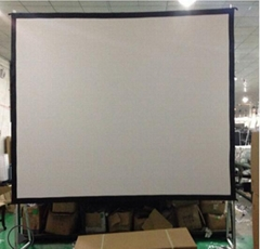 popular projection screen manufacture automatic lift electric