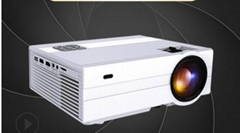 Jinfan mini projector support smartphone projection white day