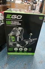 EGO Brushless Backpack Leaf Blower Power+ LB6003 600 CFM Cordless
