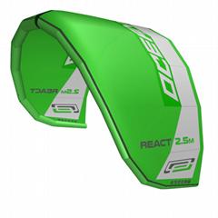2021 Ocean Rodeo React 2.5 meter Trainer Kite w/bar & lines, harness, & bag