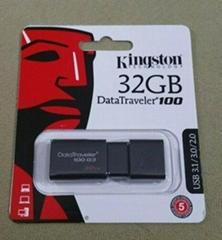 Original New Kingston DataTraveler 100 G3 DT100G3 Digital 32GB 64GB USB 3.0