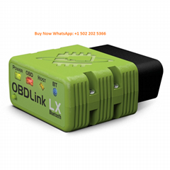 OBDLink LX Bluetooth Professional OBD-II Scan Tool For Android And Windows Green